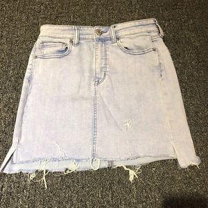 AE denim skirt